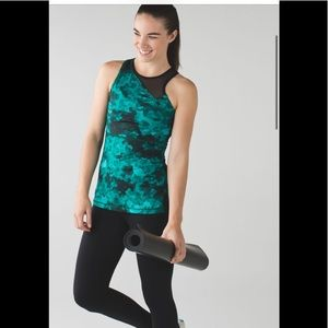 NWT Lululemon Meshed Up Tank Clouded Dreams Cosmic